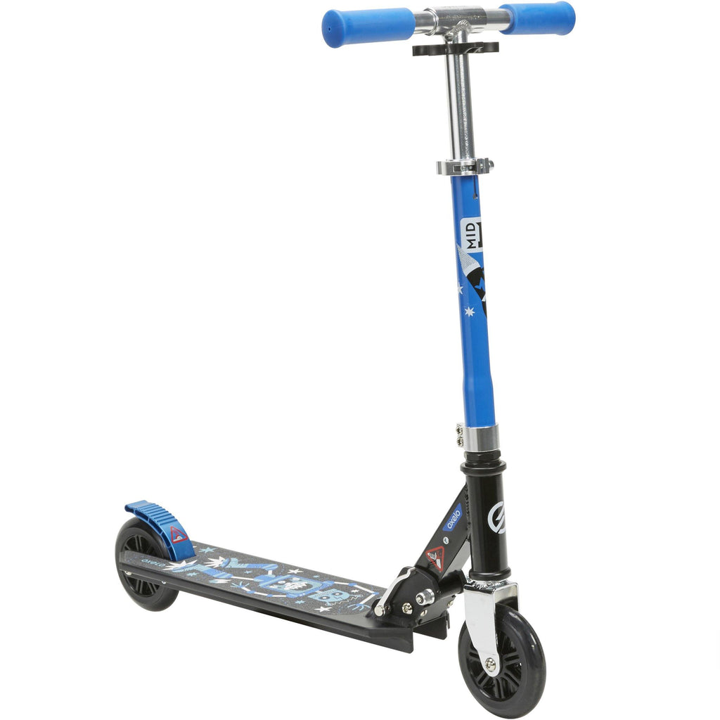 Trottinette enfant reconditionnée - MID 1 ROBOT BLEU - Decathlon Seconde Vie