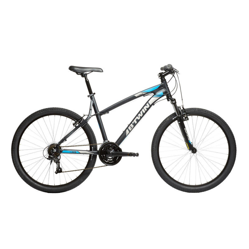 "Vélo adulte reconditionné - VTT ROCKRIDER 340 GRIS 26"" - Decathlon Seconde Vie"