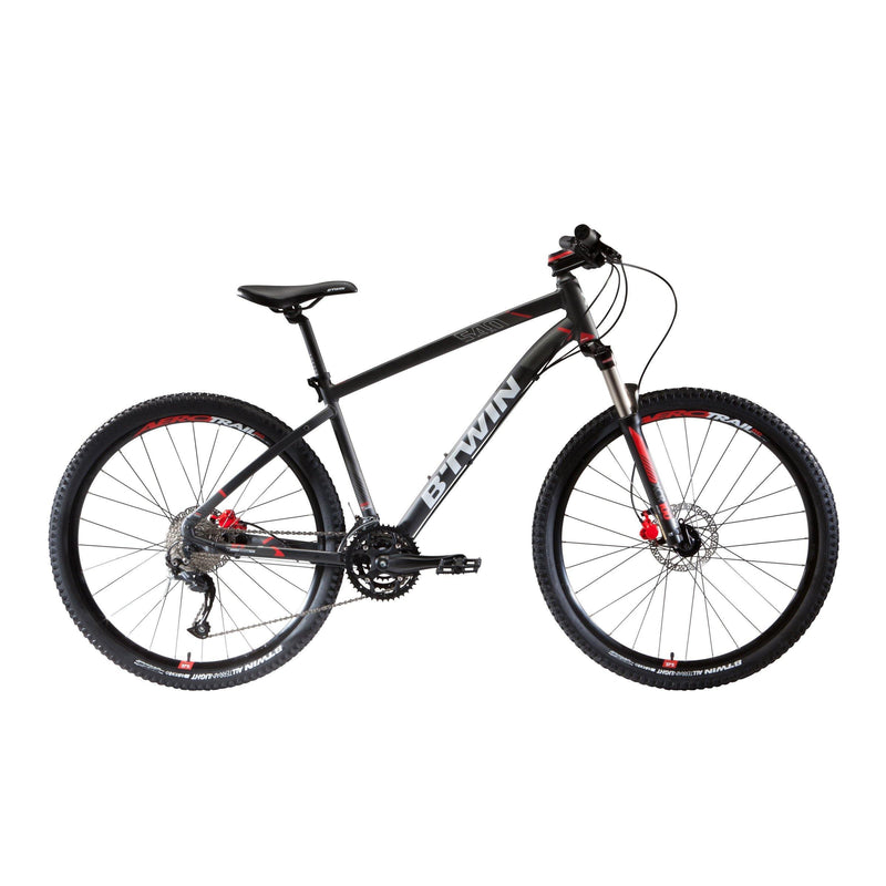 Vélo reconditionné - VTT ROCKRIDER 540 GRIS 27,5 - Decathlon Seconde Vie
