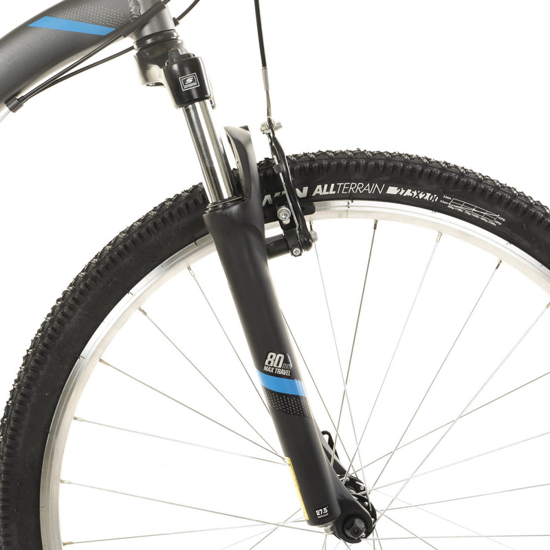 "Vélo reconditionné - VTT ST 100 GRIS 27,5"" - Decathlon Seconde Vie : articles de sport reconditionnés"