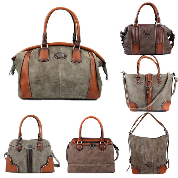 Leather Luxury Shoulder/Crossbody Handbags - my LUX style