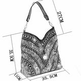 Luxury Fashion Diamond Shoulder Handbags - my LUX style