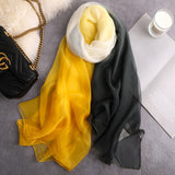 Fashion Summer Silk Scarves - my LUX style