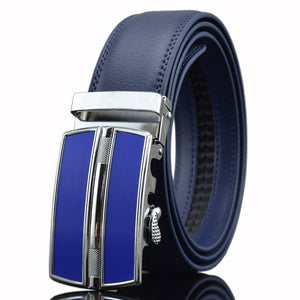 Automatic Leather Belts (Blue) - my LUX style