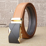 Automatic Leather Belts (Yellow) - my LUX style