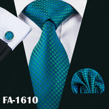 Blue Fashion Silk Ties - my LUX style