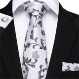 White Silk Ties - my LUX style