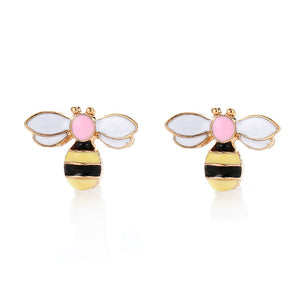 Sweet Small Bee Earrings - my LUX style