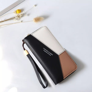 Leather Wallet Purse - my LUX style