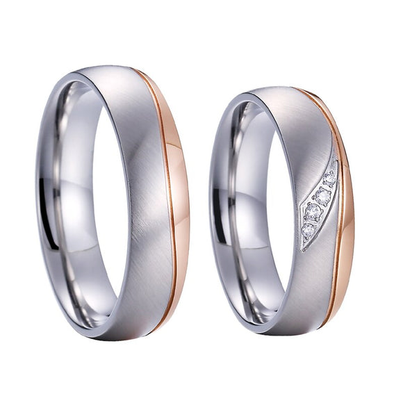 Rose Wedding Rings - my LUX style