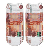 Money 3D Pinted Socks - my LUX style