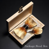 Natural Feather Bow tie - my LUX style