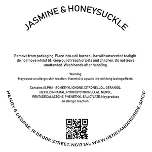 JASMINE & HONEYSUCKLE paw shaped wax melts