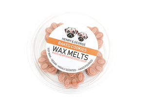 BAKED COOKIES paw shaped wax melts