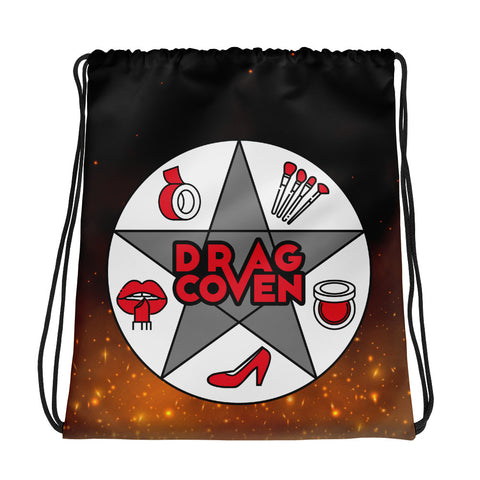 Drag Coven Drawstring Bag