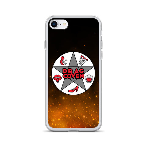 Drag Coven Logo iPhone Case