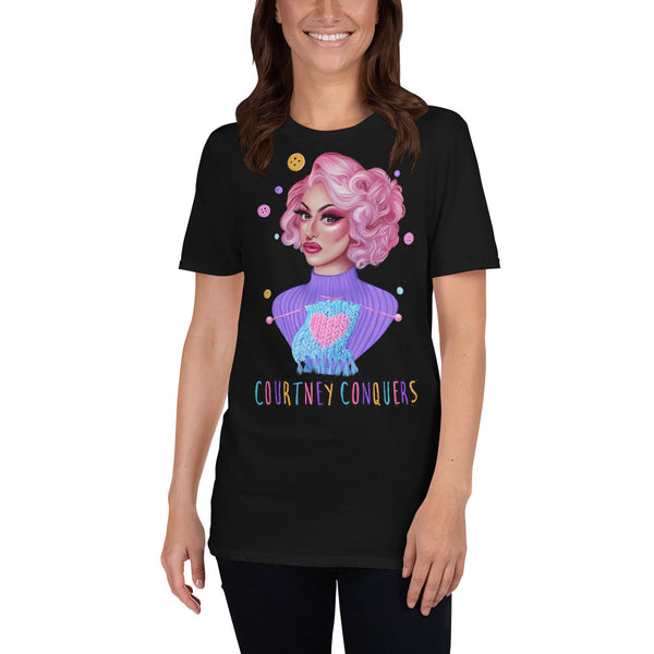 Courtney Conquers Portrait Tee
