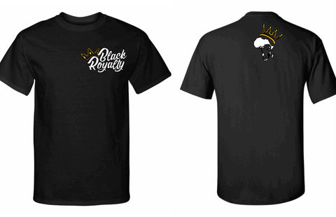 Black Royalty Short Sleeve T-Shirt (MENS)