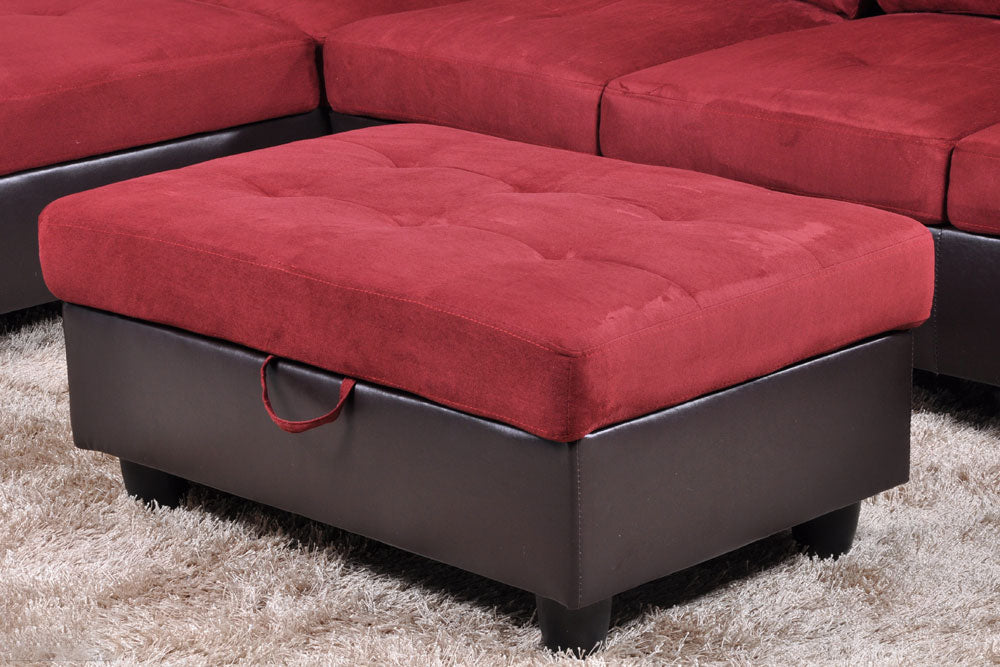 F104 Sectional Couch Set Right Hand Facing Sienwiey Global