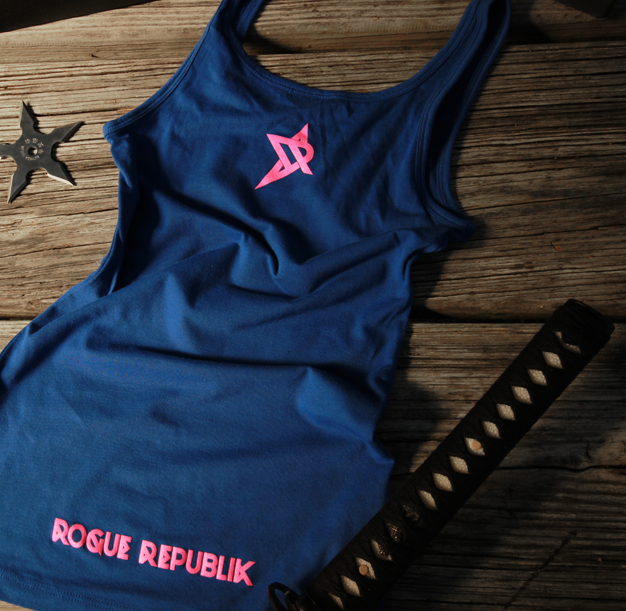 Rogue Princess T-shirt (Royal/Pink)