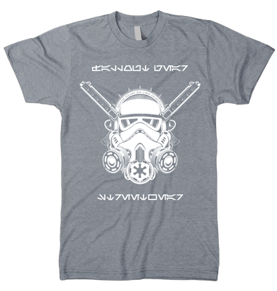 Rogue Enforcer T-shirt (Smoke, White)