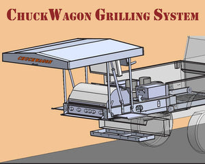 Chuck Wagon SS16 Mobile Grilling System - USED 1