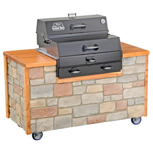 The Good-One Open Range Gen III 36-Inch Built-In Charcoal Smoker
