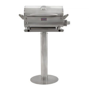 "Blaze 17"" Pedestal For The Professional Portable Grill - BLZ-PRTPED-17 - Smoker Guru"