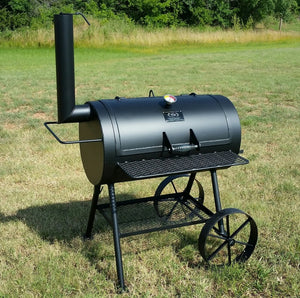 "Horizon Smoker 20"" Patriot Backyard Style Charcoal Grill"