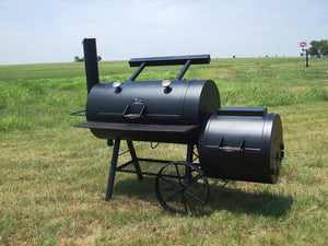 "Horizon Smoker 24"" RD Special Marshal Backyard Style Smoker - Smoker Guru"