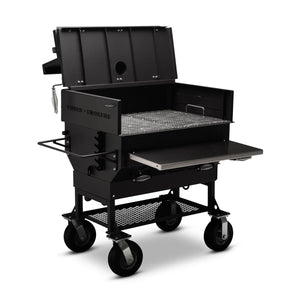 "Yoder Smokers 24""x36"" Adjustable Charcoal Grill - Flat Top"