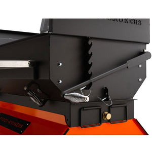 "Yoder Smokers 24""x48"" Adjustable Charcoal Grill on Competition Cart - Flat Top"