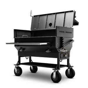 "Yoder Smokers 24""x48"" Adjustable Charcoal Grill - Flat Top"