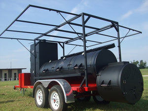 "Horizon Smoker 30"" Ranger Triple Door Smoker Trailer"