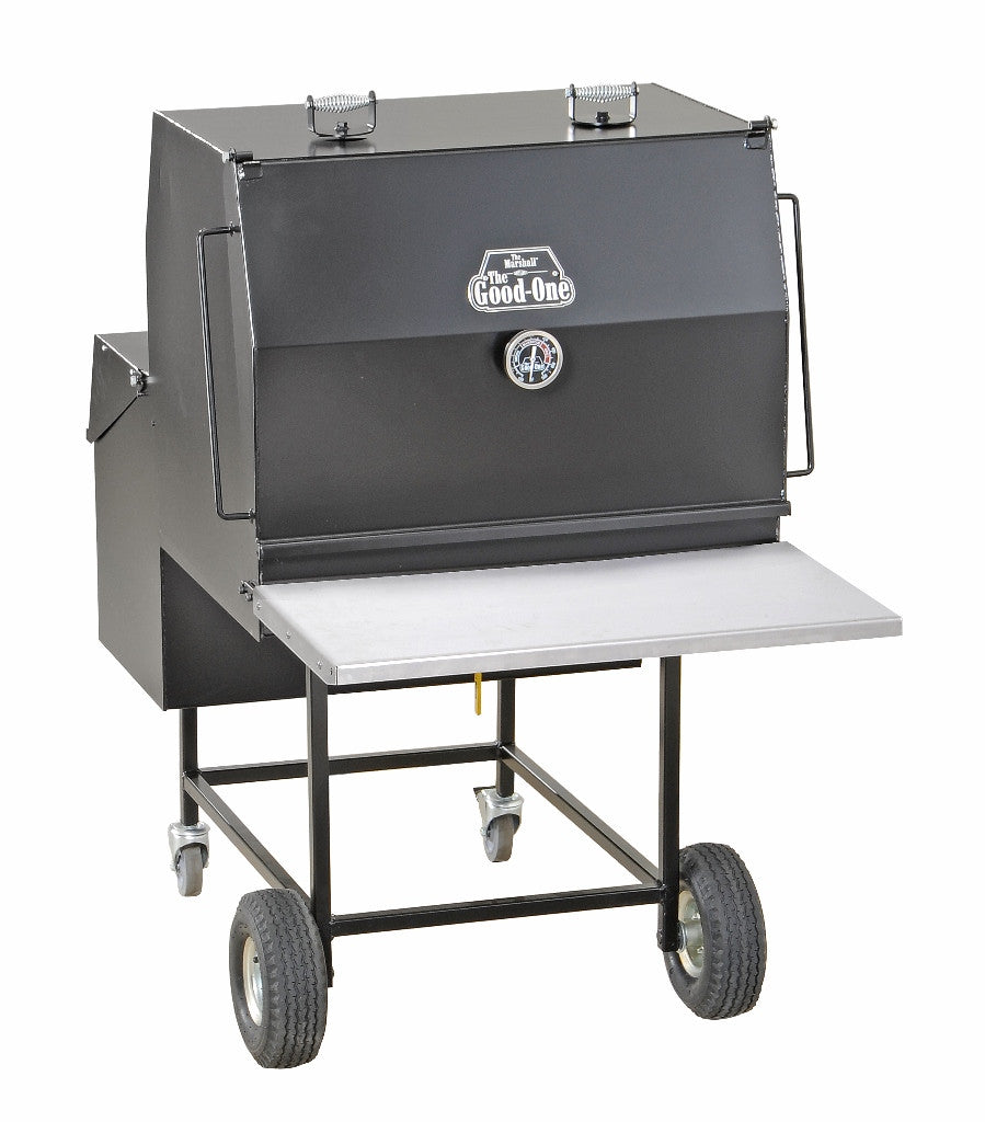 The Good-One Marshall Gen III 38-Inch Freestanding Charcoal Smoker Free Shipping