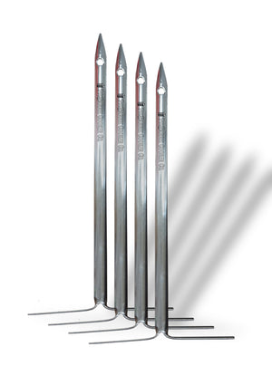 Pit Barrel Cooker 10″ Stainless Steel Vertical Skewers (4) - AC1015L10