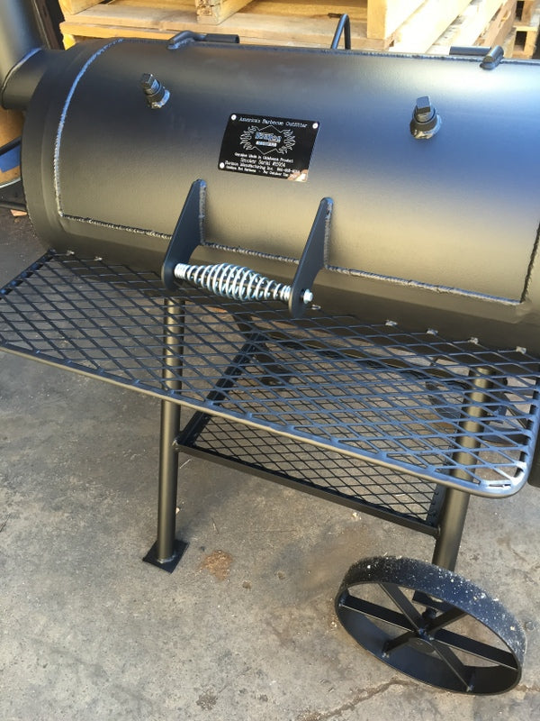 Horizon Smoker Front Rack to Patriot Charcoal Grill