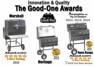 The Good-One Heritage Oven Gen III 32-Inch Charcoal Smoker Free Shipping
