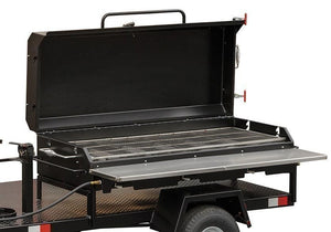 Meadow Creek Hinged Lid for BBQ36 and BBQ36G Flat Top Grill HLG