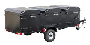 Meadow Creek BBQ96 Commercial Chicken Cooker Trailer (3 Pits)
