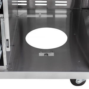 "Blaze Deluxe Cart for 30"" Gas Griddle (Cart Only) - BLZ-GRIDDLE-CART"