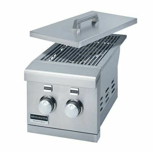 "Broilmaster 12"" Double Slid-In Side Burner - NG - BSABF12N"
