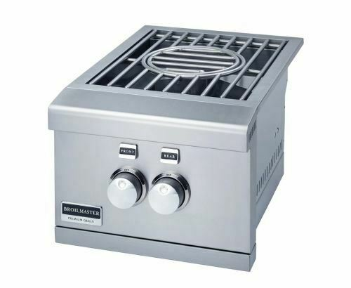 "Broilmaster 16"" Power Slid-In Side Burner - NG - BSABW16N"