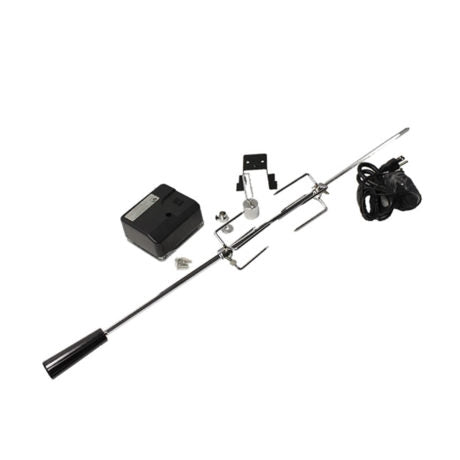 Broilmaster Rotisserie Kit for BSG343N Stainless Steel Grill - BSAMR34