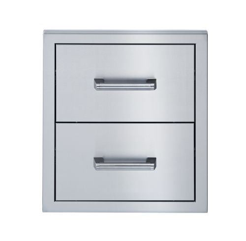 Broilmaster Double Drawer for Stainless Steel Gas Grills - BSAW2022D