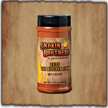 Smokin Brothers Butt The Kitchen Sink Sweet Rub (12.5 oz)