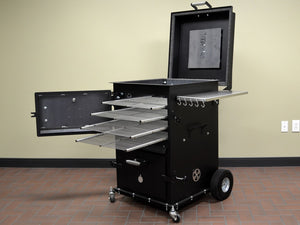 American Barbecue Systems The Bar-Be-Cube - Smoker Guru