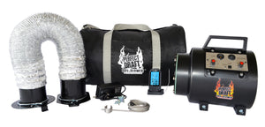 Perfect Draft BBQ Blower Complete System For Offset Smokers (Best Value)