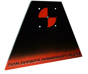 Don Godke's Downdraft - Grand Slam/Grid Iron Painted Steel (Blaz'n Grill Works)