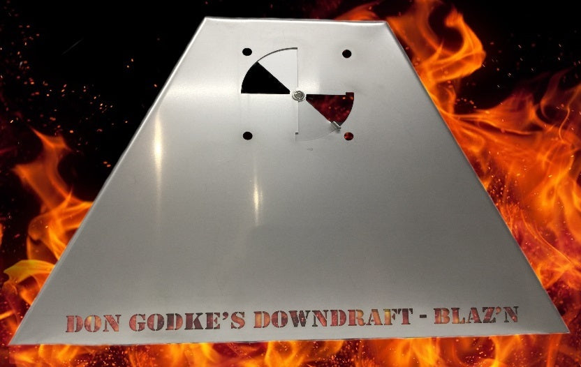 Don Godke's Downdraft - Grand Slam/Grid Iron Stainless Steel (Blaz'n Grill Works)